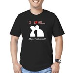 I Love My Husband Men's Fitted T-Shirt (dark)