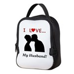 I Love My Husband Neoprene Lunch Bag