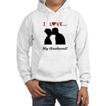 I Love My Husband Hooded Sweatshirt