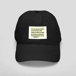 GOD IS OUR REFUGE Black Cap