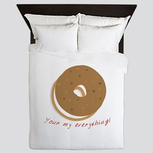 bagle_Your my everything! Queen Duvet