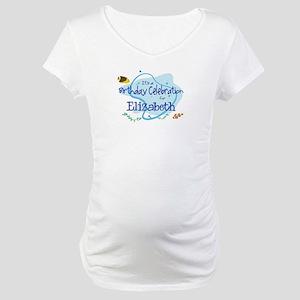 Celebration for Elizabeth (fi Maternity T-Shirt
