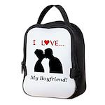 I Love My Boyfriend Neoprene Lunch Bag