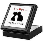 I Love My Boyfriend Keepsake Box
