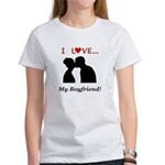 I Love My Boyfriend Women's T-Shirt