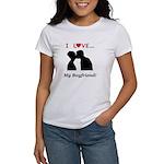 I Love My Boyfriend Women's T-Shirt