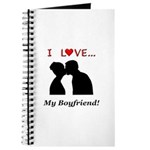 I Love My Boyfriend Journal