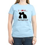 I Love My Boyfriend Women's Light T-Shirt