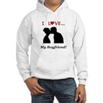 I Love My Boyfriend Hooded Sweatshirt