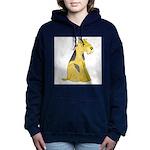 airedale-terrier Women's Hooded Sweatshirt