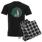 Irish American Foxhound Men's Dark Pajamas