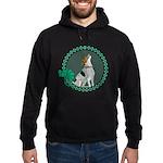 Irish American Foxhound Hoodie (dark)