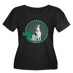 Irish American Foxhound Women's Plus Size Scoop Ne