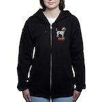 Nice American Foxhound Women's Zip Hoodie