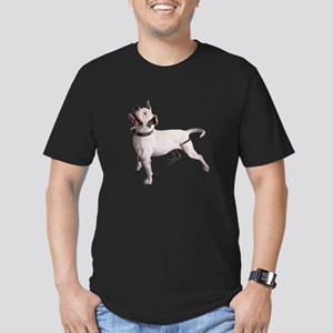 FIN-pit-bull-photo Men's Fitted T-Shirt (dark)