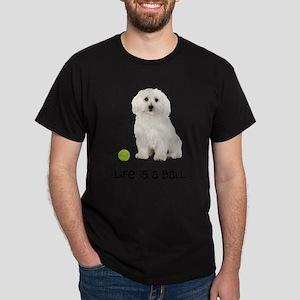 Bichon Frise Life Dark T-Shirt