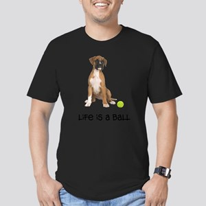 Boxer Life Men's Fitted T-Shirt (dark)