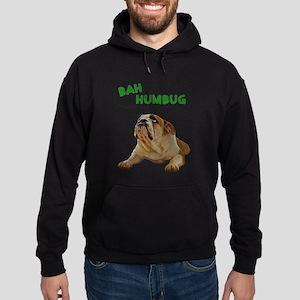 FIN-bulldog-lying-bah-humbug- Hoodie (dark)