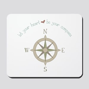 Heart Your Compass Mousepad