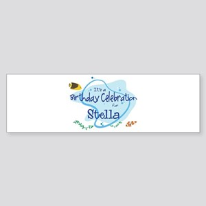 Celebration for Stella (fish) Bumper Sticker