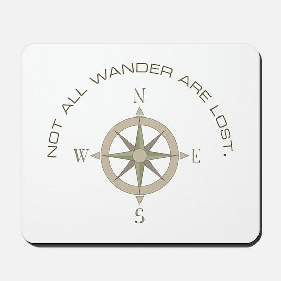 Not All Wander Mousepad