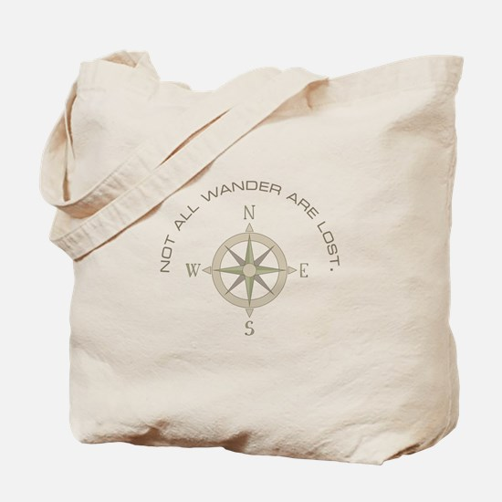 Not All Wander Tote Bag