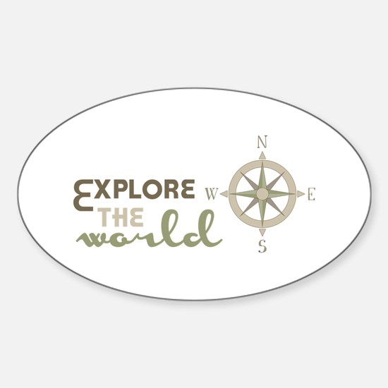 Explore The World Decal