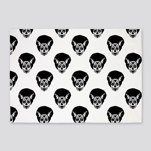 Day of The Dead Bride 5'x7'Area Rug