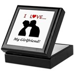 I Love My Girlfriend Keepsake Box