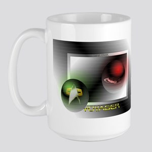Large Star Trek Voyager Designer Mugs