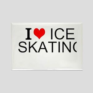I Love Ice Skating Magnets