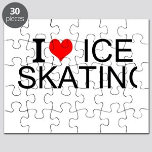 I Love Ice Skating Puzzle