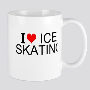 I Love Ice Skating Mugs