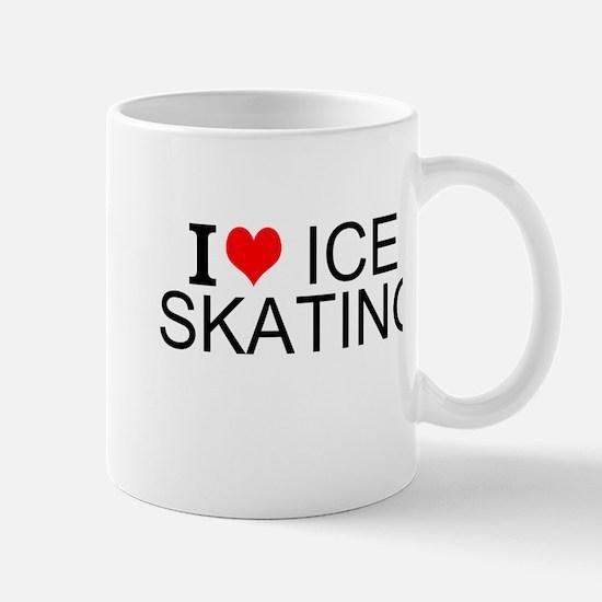 I Love Ice Skating Mugs