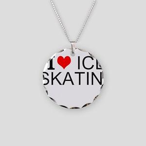 I Love Ice Skating Necklace