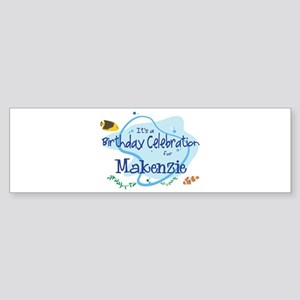 Celebration for Makenzie (fis Bumper Sticker