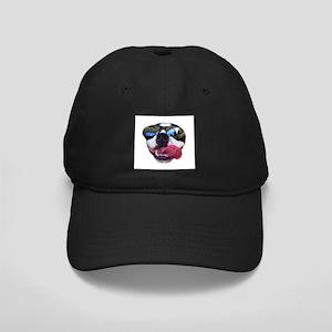 sunglass boston terrier Black Cap