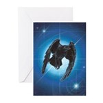 Dark Star Greeting Cards