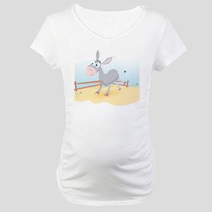 Dancing Donkey Maternity T-Shirt