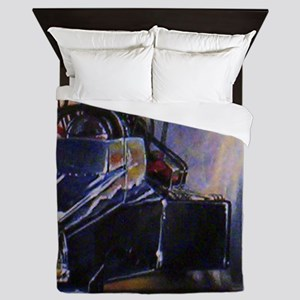 Auto Racing Queen Duvet