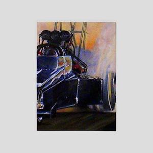 Auto Racing 5'x7'Area Rug