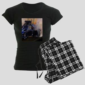 Auto Racing Women's Dark Pajamas