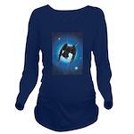 Dark Star Long Sleeve Maternity T-Shirt