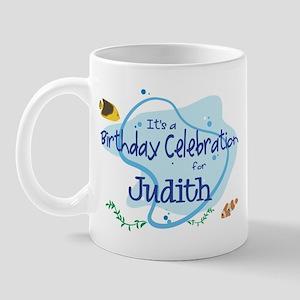 Celebration for Judith (fish) Mug