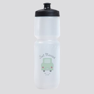 Just Married Sports Bottle