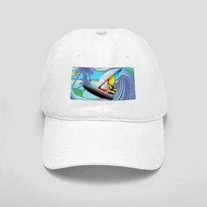 Windsurfer on Ocean Waves Baseball Cap