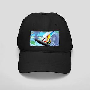 Windsurfer on Ocean Waves Baseball Hat
