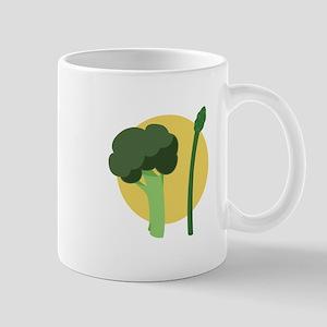 Broccoli Asparagus Mugs