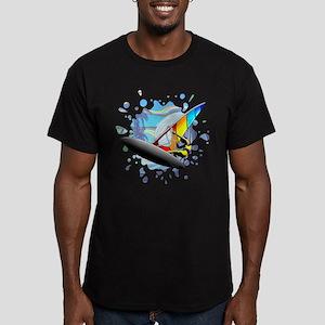 Windsurfer on Ocean Waves T-Shirt