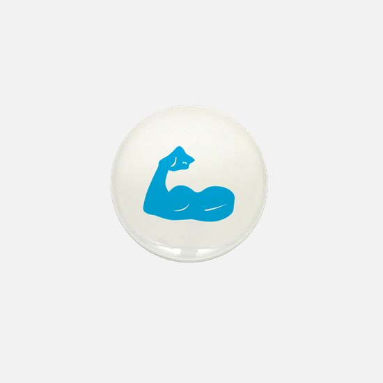 Bicep Flex Mini Button